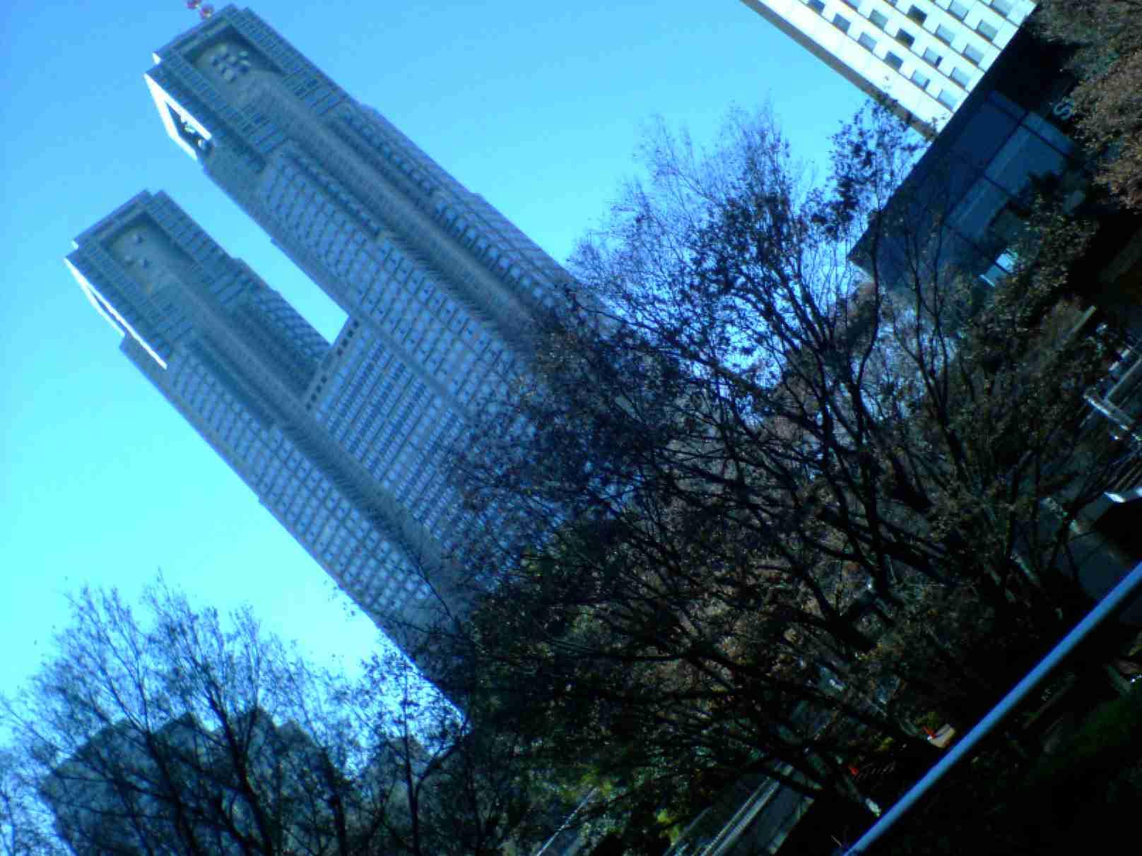 新宿の都庁