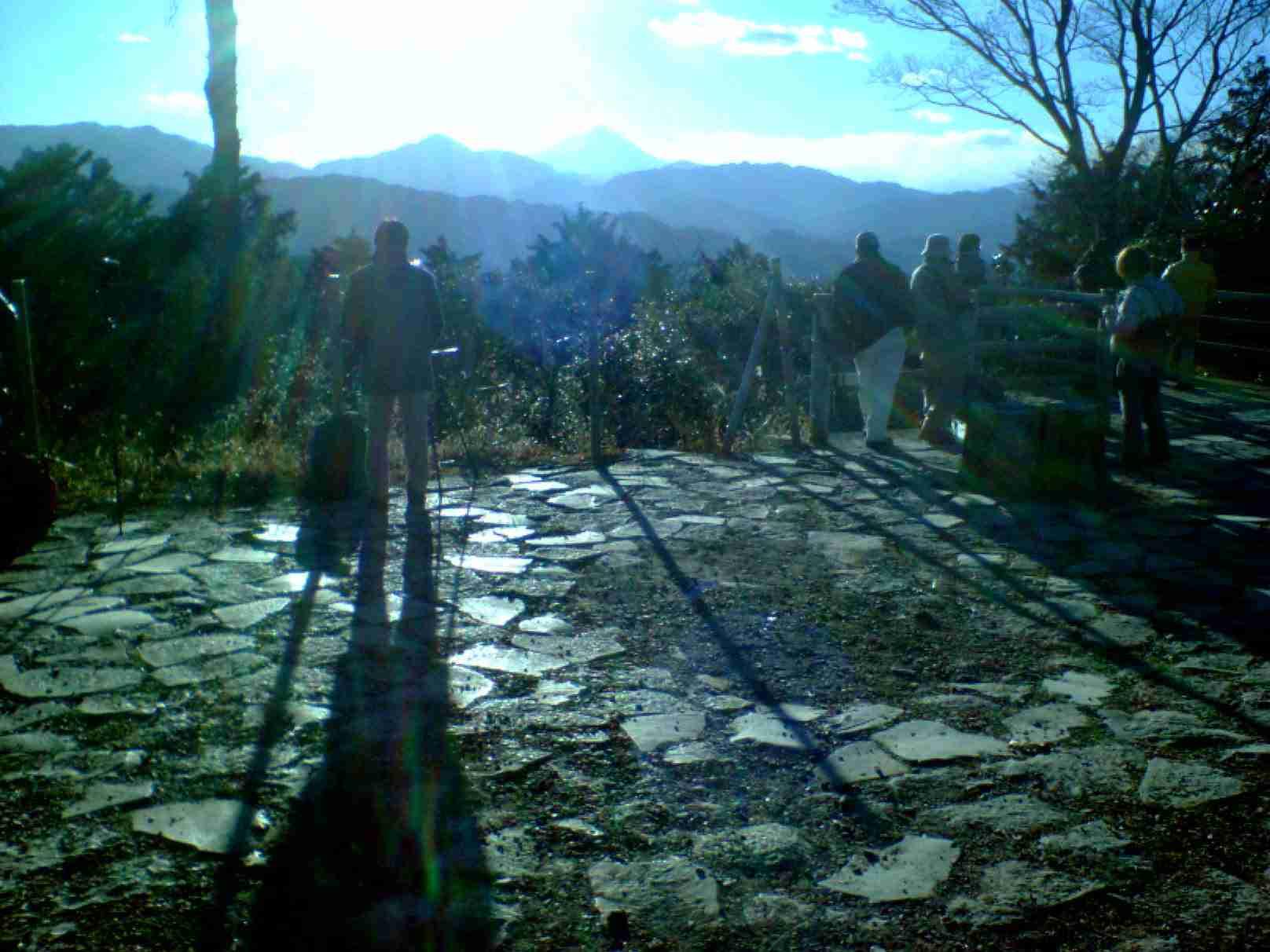 高尾山の頂上